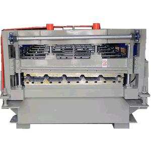 Teilatu-panela erroilua osatzeko makina ZT25-205-1025 profilerako