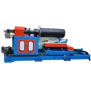 10 Ton hydraulic decoiler with loading car for the roofing sheet machine