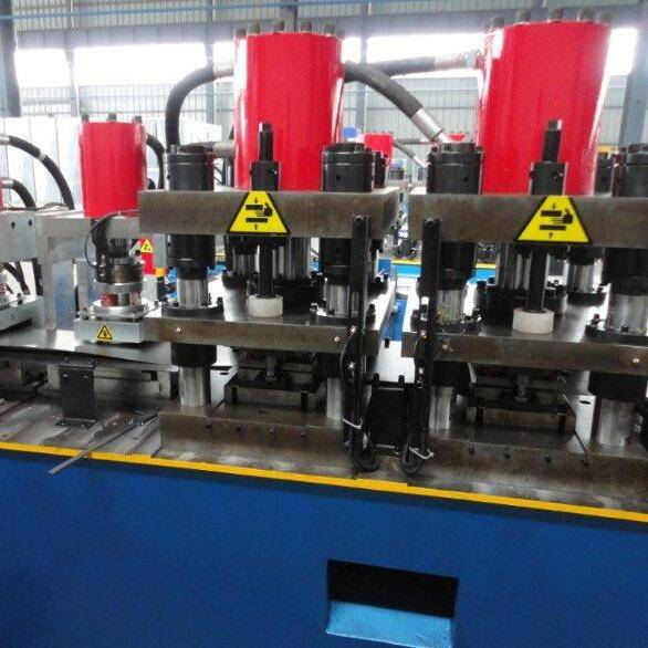 Bottom price Auto Stacker For Steel Panel - Fully automatic door frame making machine – Zhongtuo detail pictures