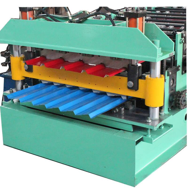 Big discounting Galvanized Sheet Roll Forming Machine - Double layer machine – Zhongtuo detail pictures