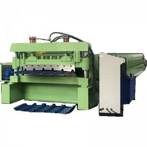 China New Product Rolling Shutter Strip Making Machine - Gearbox transmission IBR metal roofing sheet machine – Zhongtuo