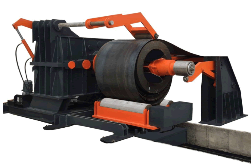 Low MOQ for Roll Forming Machine Price - Hydraulic Decoiler 15 Tons with loading car – Zhongtuo