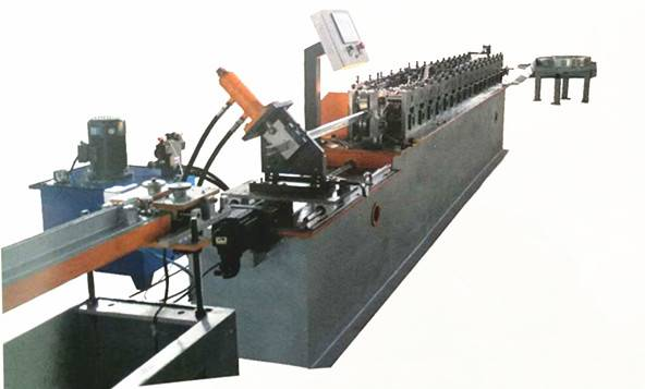Best quality C Channel Making Machine - T-grid roll forming machine  – Zhongtuo detail pictures