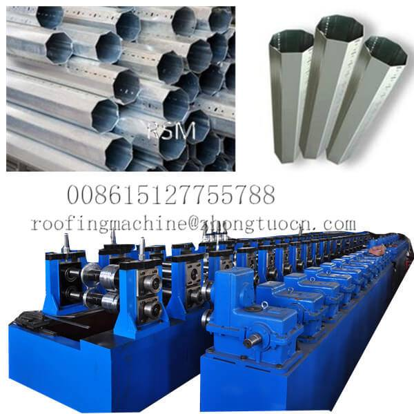 Rapid Delivery for Drywall Stud Roll Forming Machine - Interlocked Pipe Machine – Zhongtuo detail pictures