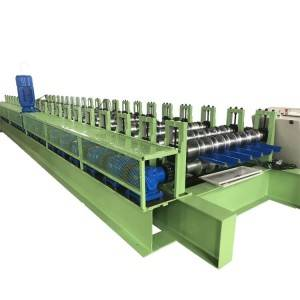 High speed roofing sheet machine