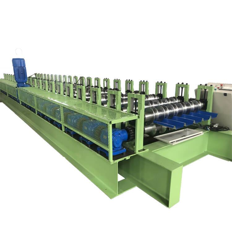 Factory directly Gutter Forming Machine - High speed roofing sheet machine – Zhongtuo