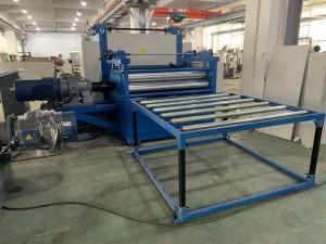 willow pattern metal plate emsbossing machine