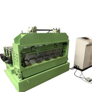 Big Discount Stud Forming Machine - High Speed Color Steel Roof Making Machine 35 meter per minute – Zhongtuo