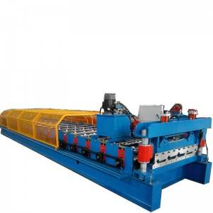 Manufactur standard Carbon Steel Pipe Mill - Metal roofing sheet machine – Zhongtuo
