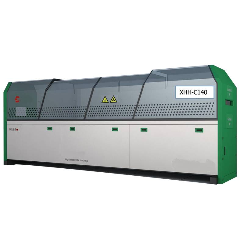 Well-designed Roofing Sheet Machine - Light keel villa machine-140 – Zhongtuo