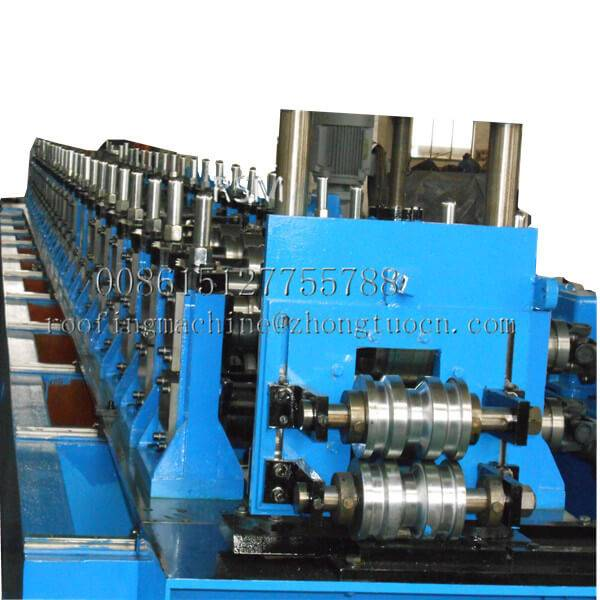 Factory Cheap Hot Light Duty Slotted Angle Rack Making Machine For Shelf Panel - Interlocked Pipe Machine – Zhongtuo