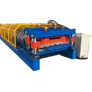 OEM Manufacturer Steel Roof Decking Panel Roll Forming Machine - IBR and Glazed tile by one machine – Zhongtuo