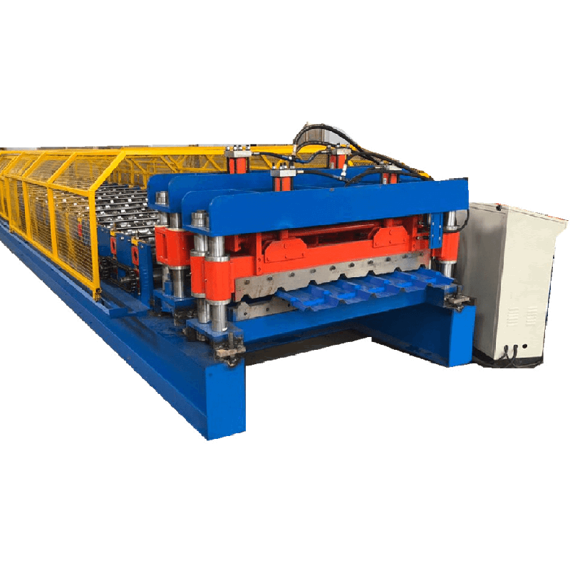 Cheap price Hydraulic Automatic Highway Guardrail Roll Forming Machine - IBR and Glazed tile by one machine – Zhongtuo