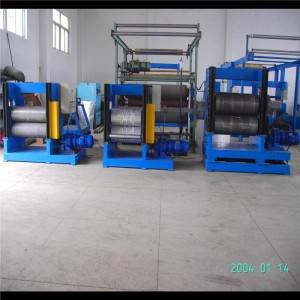 Wholesale Price China Glazed Metal Profiles Making Machine - Metal embossing machine – Zhongtuo