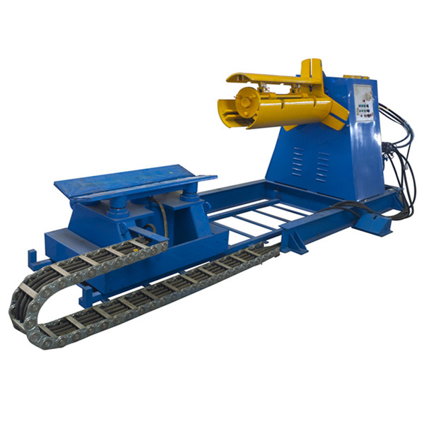 7 Ton hydraulic decoiler for roofing forming machine