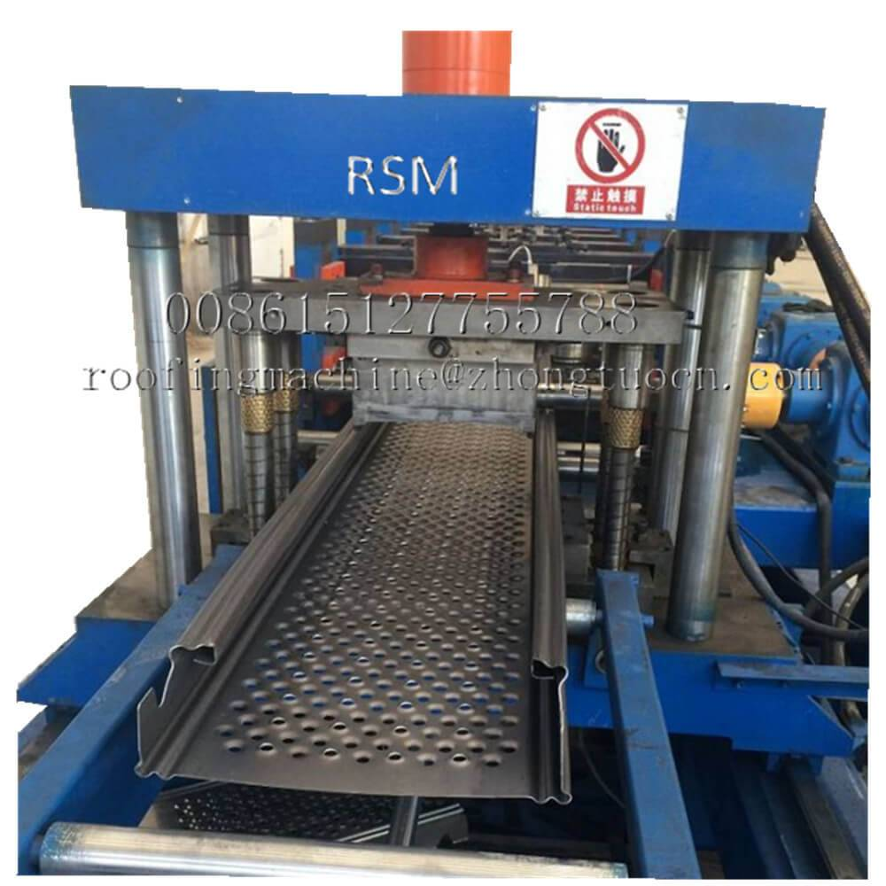 Wholesale Prefab House Machinery - Metal Decking Machine – Zhongtuo detail pictures