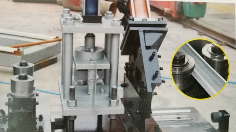 factory Outlets for Roofing Tiles Forming Making Machine - C stud and U track roll forming machine – Zhongtuo detail pictures