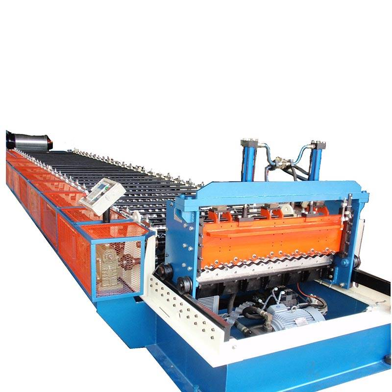 Super Lowest Price Aluminum Duct Forming Machine - Corrugated sheet roll forming machine – Zhongtuo