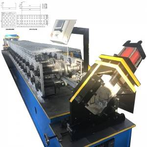 Reasonable price C Purlin Making Machine - Light duty cable tray rolling machine – Zhongtuo