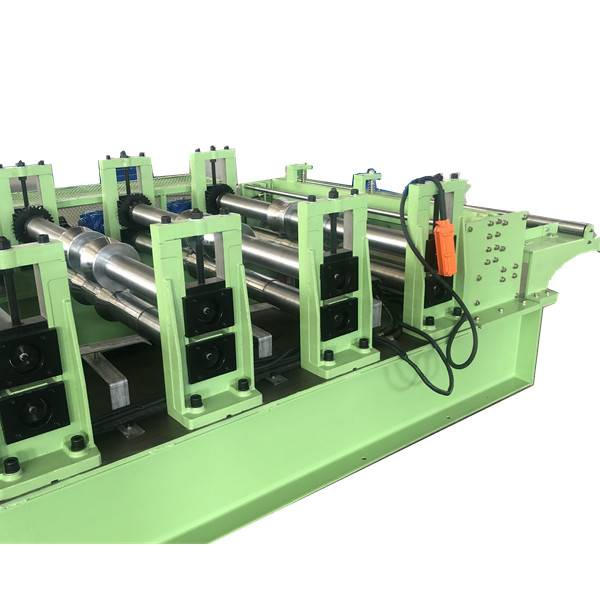 China New Product Rolling Shutter Strip Making Machine - Gearbox transmission IBR metal roofing sheet machine – Zhongtuo detail pictures