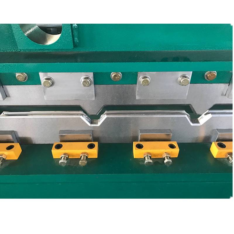 Best Price on Metal Deck Scaffolding Roll Forming Machine - Hydraulic crimping machine – Zhongtuo detail pictures