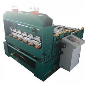 OEM/ODM Factory Deck Floor Plate Forming Machine - Hydraulic crimping machine – Zhongtuo