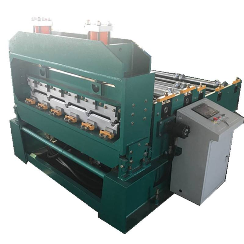 Best Price for Steel Floor Plate Roll Deck Making Machine - Hydraulic crimping machine – Zhongtuo