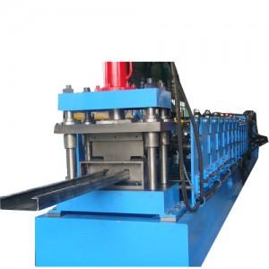Manual adjustment C purline, U purline rolling forming machine