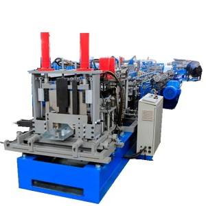Factory made hot-sale Roof Panel Roll Forming Machine - C U purline making machine – Zhongtuo