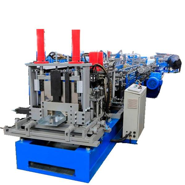 Low price for Steel Decking Roll Forming Machine - C U purline making machine – Zhongtuo