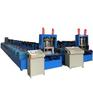 Bottom price Welded Pipe Roll Forming Machine - Fully Automatic Zee Purline Rolling Forming Machine – Zhongtuo