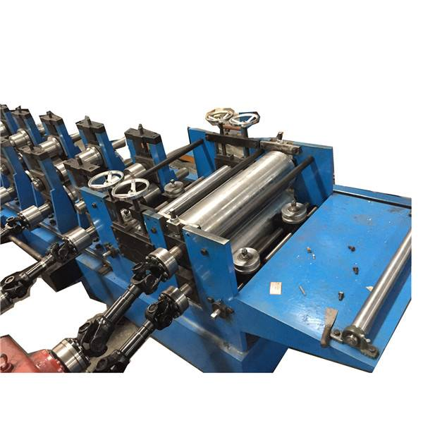 Factory supplied Tile Sheet Making Machine - Fully Automatic Zee Purline Rolling Forming Machine – Zhongtuo detail pictures
