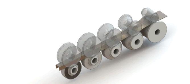 C profile rolling process