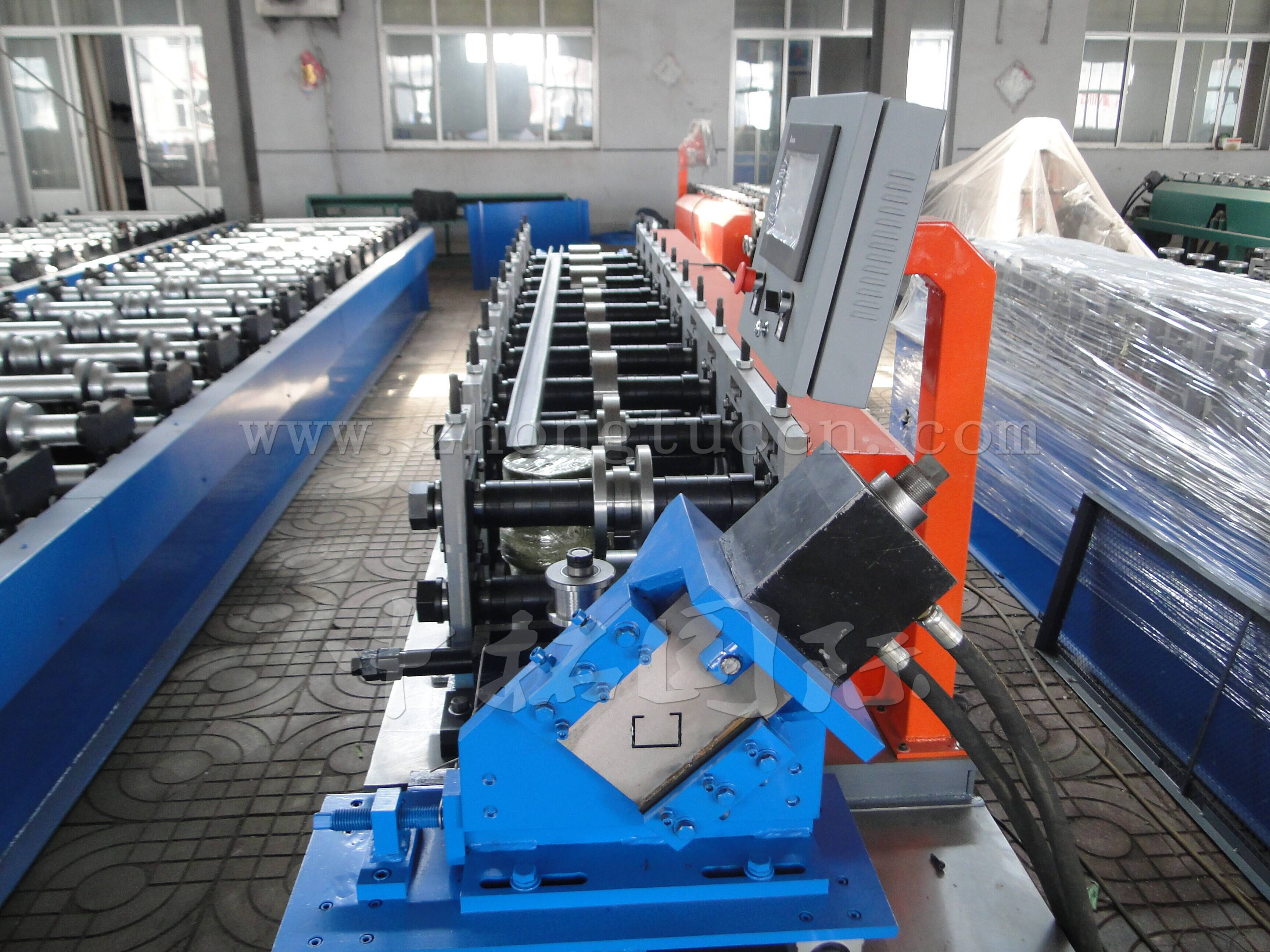 Factory For High Speed Roll Forming Machine - Light steel Metal Stud Wall Framing machine – Zhongtuo