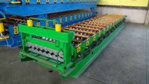 Cheapest Factory Rain Gutter Making Machine - TR-4 roof sheet roll Forming machine – Zhongtuo