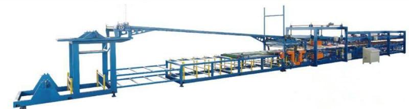 EPS Rockwood Sandwich panel production line1