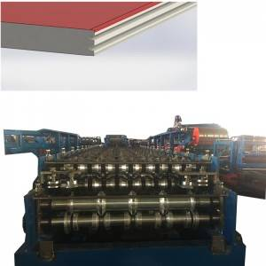 Lowest Price for High Frequency Tube Mill - EPS Rockwood Sandwich panel production line – Zhongtuo
