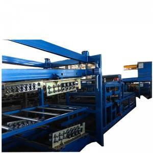 High Quality Glazed Tiles Roof Ridge Cup Roll Forming Machine -  EPS Rockwood Sandwich Panel Production Line – Zhongtuo