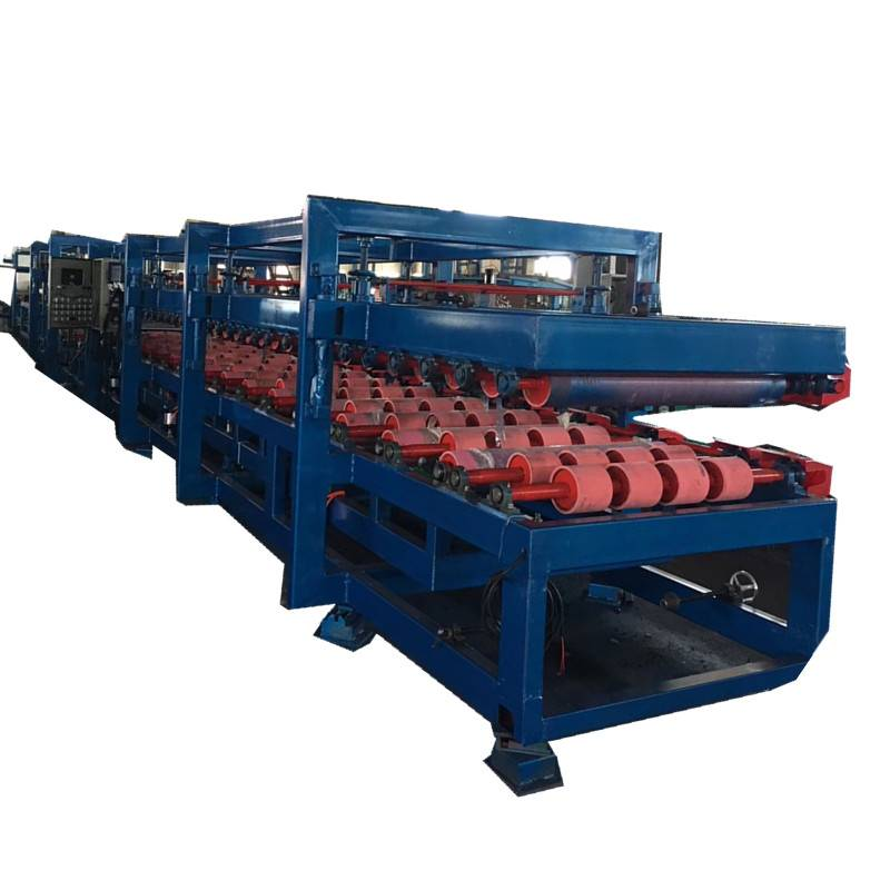 High Quality Glazed Tiles Roof Ridge Cup Roll Forming Machine -  EPS Rockwood Sandwich Panel Production Line – Zhongtuo detail pictures