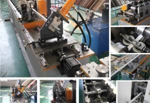 Professional China Glazed Roof Tile Making Machine - T-grid roll forming machine  – Zhongtuo