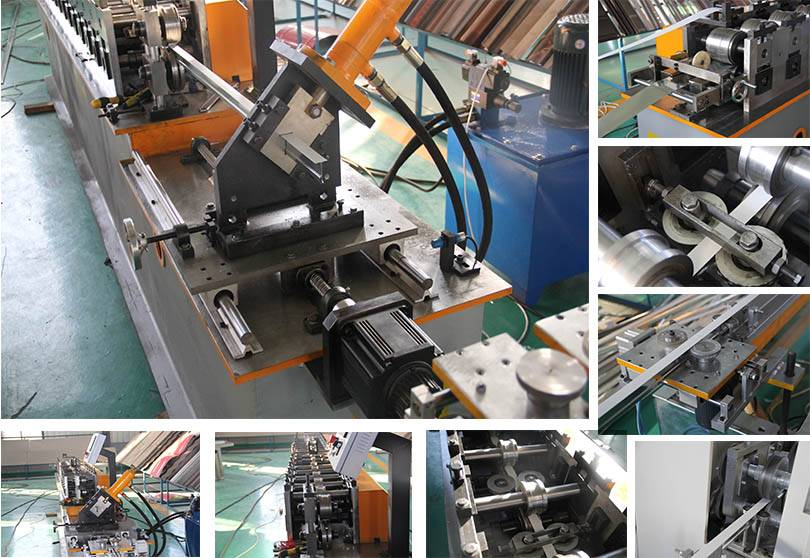 Best quality C Channel Making Machine - T-grid roll forming machine  – Zhongtuo