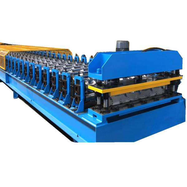 GALVANISED STEEL ALKYD POLYESTER COATED BOX PROFILE ROOFING SHEETS MAKING MACHINE