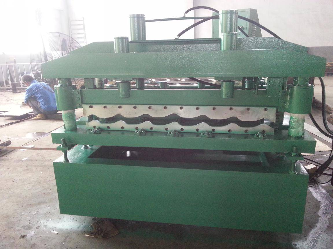 Glazed Steel Tile Making Machinery for Colored Glazed Steel Roofing Sheet4