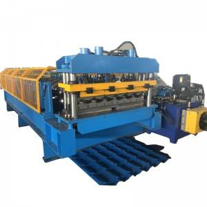 1100 tile water ripper glazed step tile steel making roll forming machine