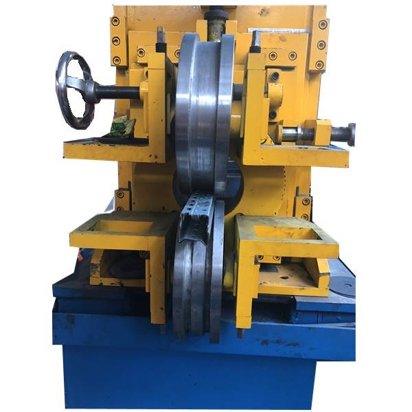 Trending Products Rolling Shutter Door Forming Machine - Metal Interlocked pipe with punching holes for rails  – Zhongtuo detail pictures