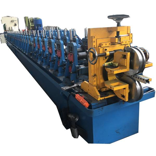 Trending Products Rolling Shutter Door Forming Machine - Metal Interlocked pipe with punching holes for rails  – Zhongtuo