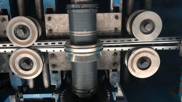 Interlock part of rolling forming
