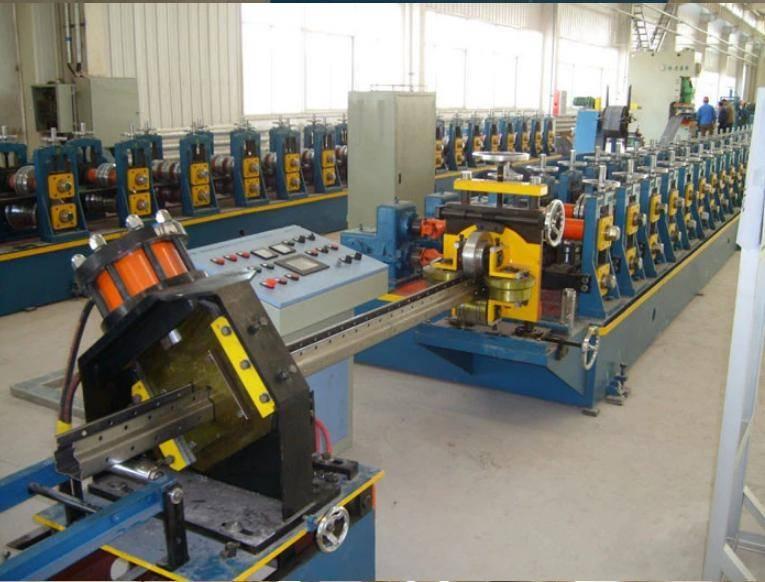Medium A type shelf rack making machine 3