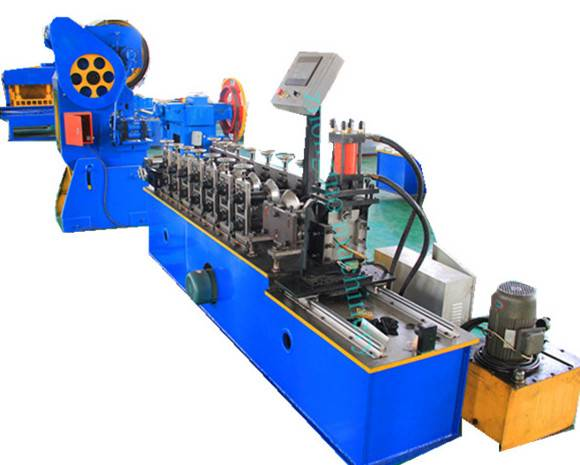 Factory For 910 Roofing Metal Deck Panels Roll Forming Machine - Net type wall angle roll forming machine – Zhongtuo