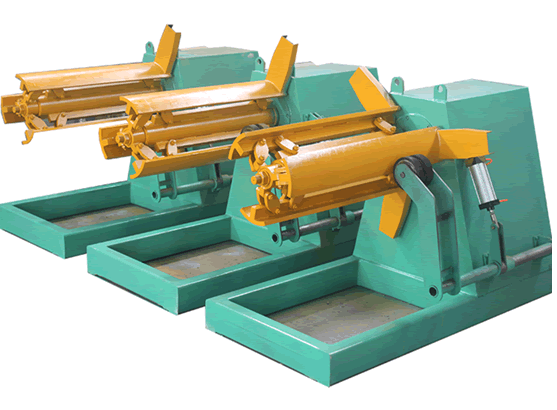 OEM Customized Ibr Deck Sheet Roll Forming Machine - Weight Capacity Of 3 Ton Or 5 Ton Hydraulic Uncoiling / Decoiling Machine With Max Coil Width 500mm – Zhongtuo